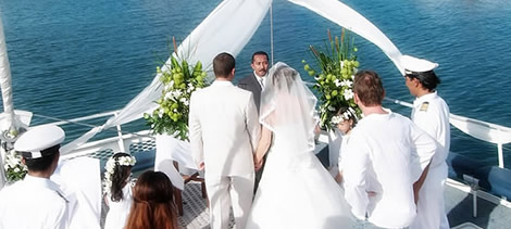 wedding cruise in bali
